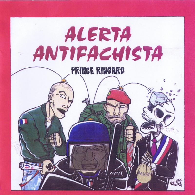 "Prince Ringard ""Alerta Antifachista"" CD + DVD 2013"