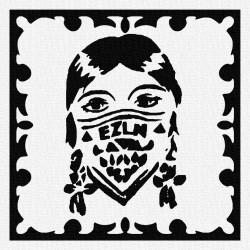 EZLN - Patch à coudre - 9x9cm