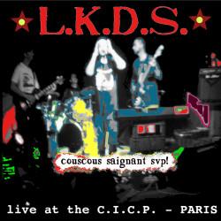 """LES KAMIONERS DU SUICIDE """"Couscous Saignant SVP"""" maxi 45t live 7 titres"""