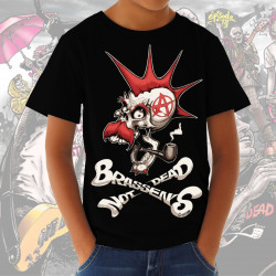 BRASSENS NOT DEAD dessin Coyote t-shirt enfant