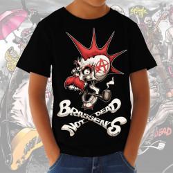 """BRASSENS NOT DEAD """"Coyote"""" t-shirt enfant coton bio equitable"""
