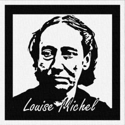 LOUISE MICHEL - Patch à coudre - 9x9cm