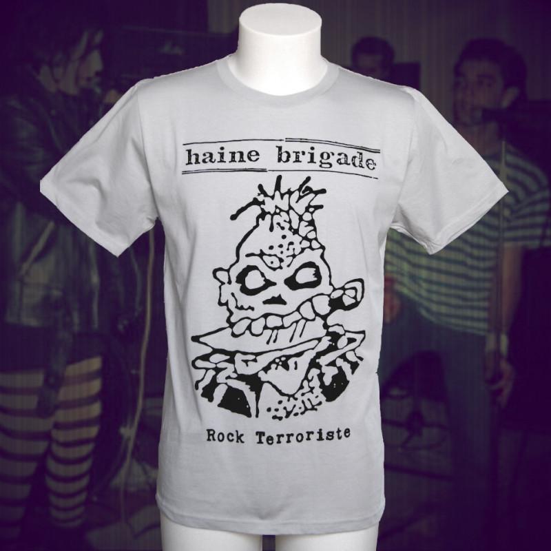 HAINE BRIGADE Rock Terroriste T-shirt bio équitable Homme