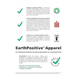 Earthpositive Sweat Zip & Capuche Bio-Equitable