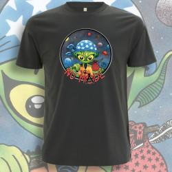 Anthracite NO MⒶDE T-Shirt Homme Bio-Equitable