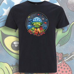 Bleu Marine NO MⒶDE T-Shirt Homme Bio-Equitable