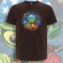 Marron NO MⒶDE T-Shirt Homme Bio-Equitable
