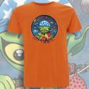Orange NO MⒶDE T-Shirt Homme Bio-Equitable