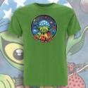 Vert Pomme NO MⒶDE T-Shirt Homme Bio-Equitable