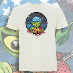 Ecru NO MⒶDE T-Shirt Homme Bio-Equitable