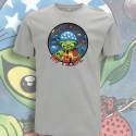 Gris clair NO MⒶDE T-Shirt Homme Bio-Equitable