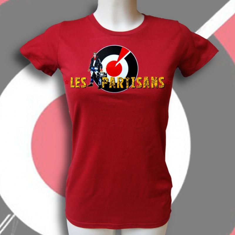 Les PARTISANS T-shirt bio équitable Femme