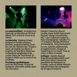 La MARMITE le sang bouillant (CD 2015)