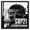 COP21 - Patch à coudre - 9x9cm