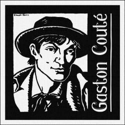 GASTON COUTÉ - Patch à coudre - 9x9cm
