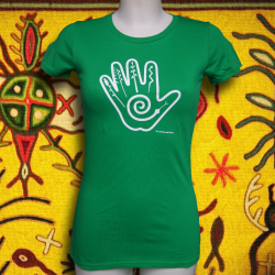 NATIVE HAND t-shirt femme en coton bio-quitable