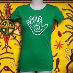 NATIVE HAND t-shirt femme en coton bio-quitable