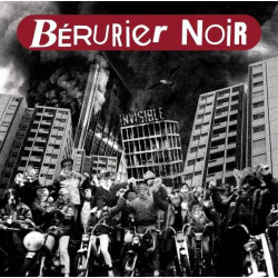 "BERURIER NOIR ""INVISIBLE"" LP Vinyle Transparent (2005 Réed 2014)"