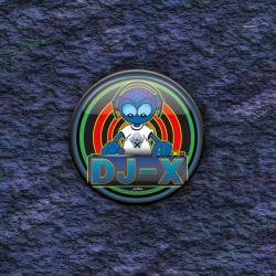 BADGE DJ-X par Cosmix Mat