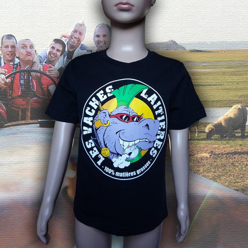LES VACHES LAITIERES t-shirt enfant en coton bio equitable