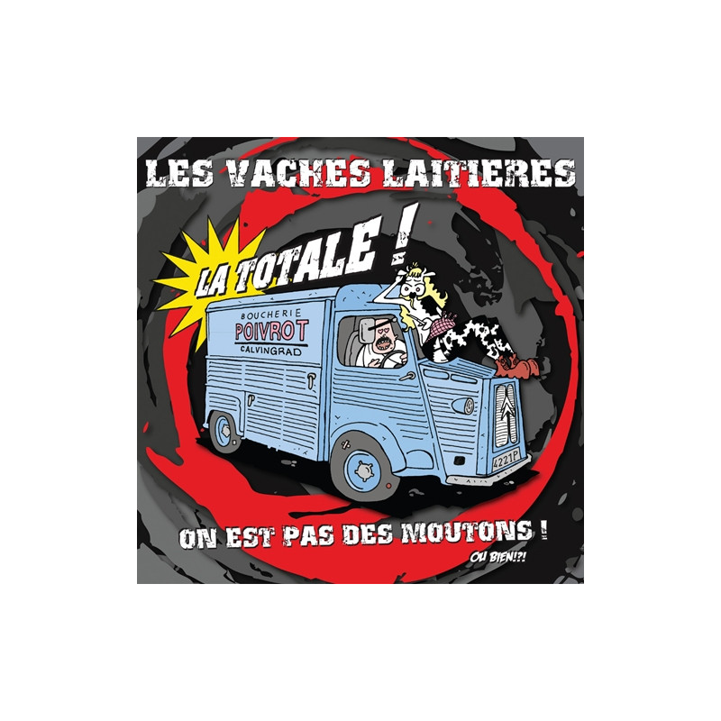LES VACHES LAITIERES La Totale - LP Vinyle 2016