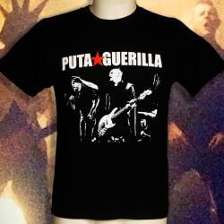 PUTA GUERILLA Live t-shirt homme en coton bio-quitable