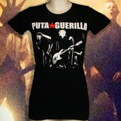 PUTA GUERILLA Live t-shirt femme en coton bio-quitable