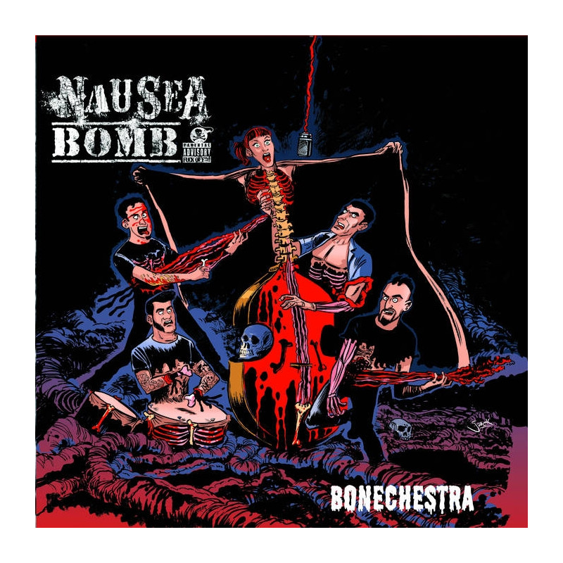 NAUSEA BOMB Bonechestra CD 2016