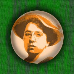 Emma Goldman - Badge Ø38mm