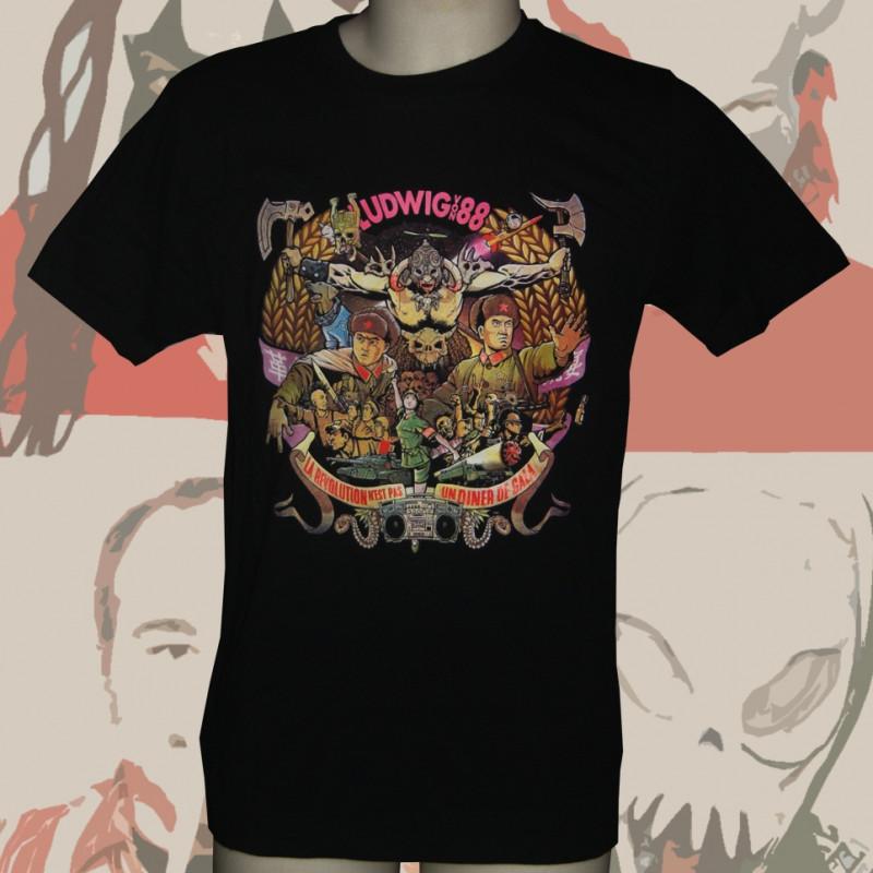 LUDWIG VON 88 la révolution... t-shirt homme en coton bio-equitable
