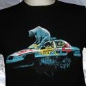 POST APOCALYPSE BEAR t-shirt homme en coton biologique
