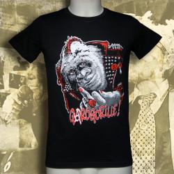 BRASSEN'S NOT DEAD Garogorille T-shirt Homme en coton bio
