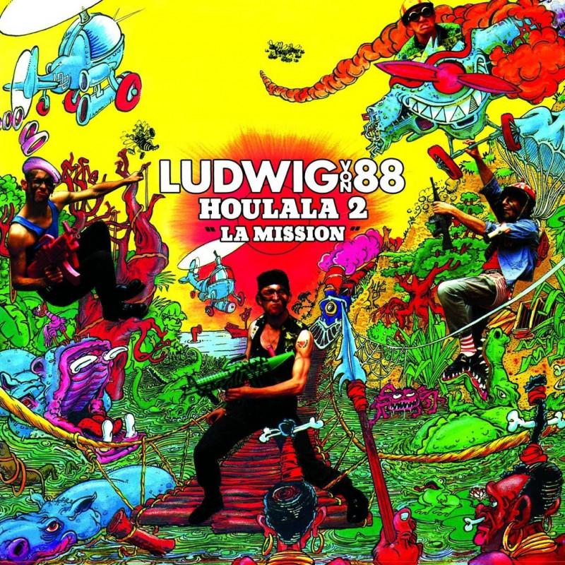 LUDWIG VON 88 Houlala 2 La Mission CD