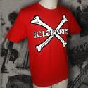Les CLÉBARDS Crossbones t-shirt homme