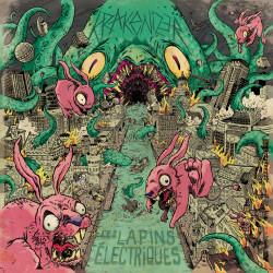 KRAKENIZER/LES LAPINS ELECTRIQUES Split LP Vinyle 2017