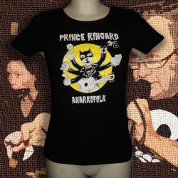 PRINCE RINGARD Tapage t-shirt coupe feminine en coton bio-équitable