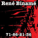 RENÉ BINAMÉ 71-86-21-36 LP Vinyle 1996