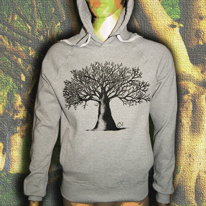 ARBRE A CAT sweat capuche en coton bio-equitable