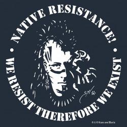 FREE LEONARD PELTIER t-shirt homme en coton bio-quitable