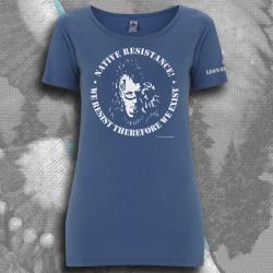 FREE LEONARD PELTIER t-shirt femme en coton bio-équitable