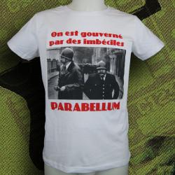 PARABELLUM On est gouverné... T-shirt Homme coton bio-équitable