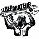 LE REPARATEUR Monkey TS masculin en coton bio-équitable