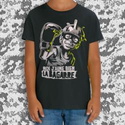 RNST J'aime bien la bagarre T-shirt enfant en coton bio équitable