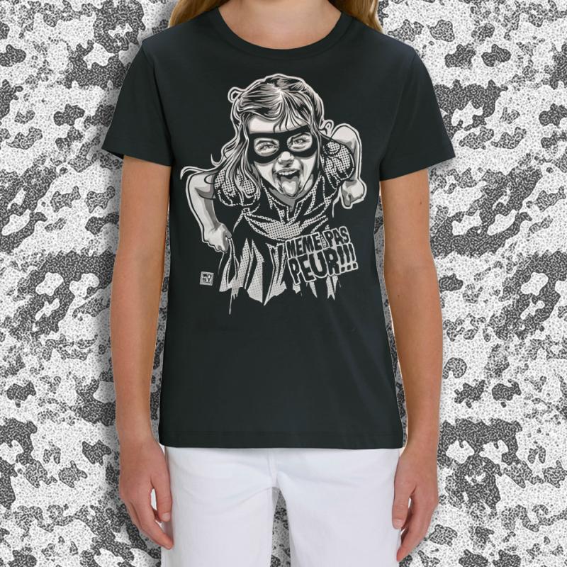 RNST Même pas peur t-shirt kids