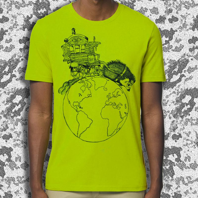 NIGLOBOHEM vert T-shirt masculin