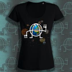 GLOBANAR T-shirt feminin en coton bio équitable