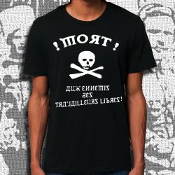 MAKHNOVTCHINA VF t-shirt masculin en coton bio équitable