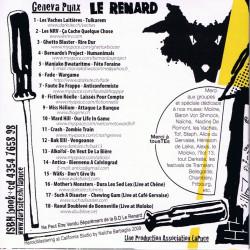 Le Renard : dos CD