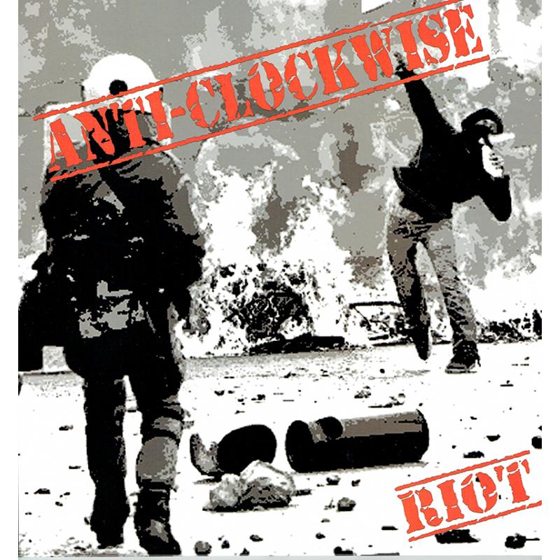 """ANTI-CLOCKWISE """"RIOT"""" Vinyle LP 2019"""