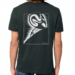 DROOKER Sister Syphilis t-shirt masculin en coton bio équitable